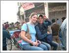 Rickshaw ride through Chandni Chowk, Delhi